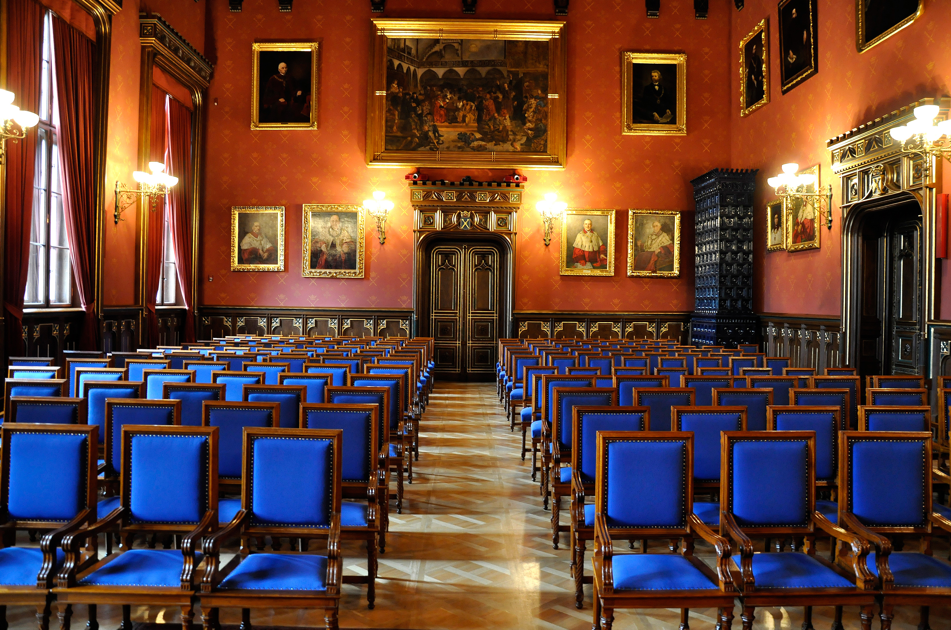 Main Hall in Collegium Novum